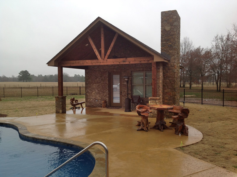Pool Houses Built By Cch Pools Longview Tx